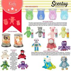 Don't forget your little ones this Valentine Holiday!!!! All Scentsy Kids Products are available at: https://jenniferlynnmcmahan.scentsy.us