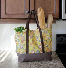 Martha Market Bag - Free Pattern