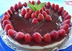 Τσιζκέικ με μαρμελάδα φράουλας - Παρλιάρος