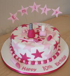 Girl Make up cake