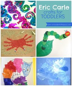 Eric Carle crafts for toddlers