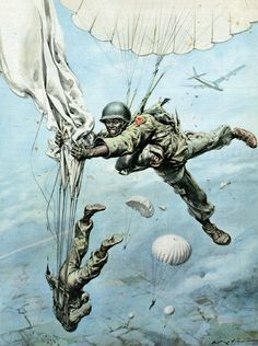 SHEAR [in-spuh-rey-shuhn] — Walter Molino Incidenti, 1956 la Domenica del. Military Love, Army Love, Military Art, Military History, Indian Army Wallpapers, Military Drawings, Vietnam War Photos, Art Graphique, Aviation Art