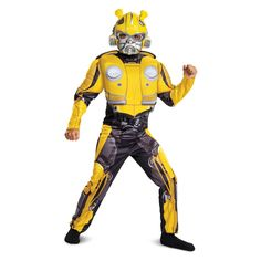 Overwatch Genji Classic garçons Muscle Costume