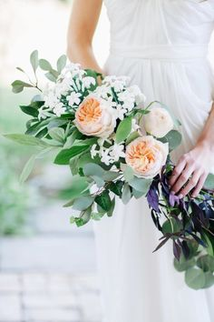 Arm sheaf bouquet: http://www.stylemepretty.com/2014/05/09/diy-hudson-valley-farm-wedding/ | Photography: Fabrice Tranzer - http://fabricetranzer.com/