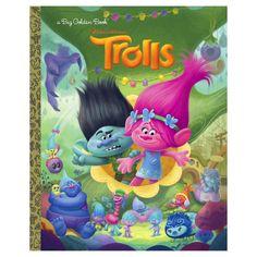 Trolls Big Golden Book (DreamWorks Trolls) (Hardcover) by Golden Books, Alan Batson, Fabio Laguna
