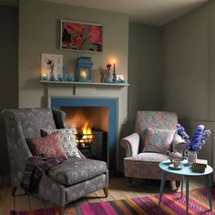Cottage-chic living room | Living room decorating | housetohome.co.uk