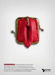 28 Too Many Print Ad - The Price of FGM, 4