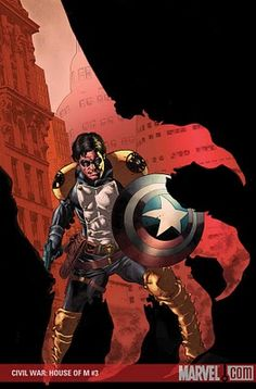 Captain America (House of M)
