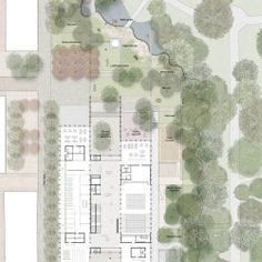 Your backyard landscaping is going to have to be about many different things but the most important one of these if your well being. Most people get into backyard landscaping because they want to change the look and feel of their home Architecture Site Plan, Museum Architecture, Architecture Graphics, Architecture Drawings, Landscape Architecture, Contemporary Museum, Contemporary Landscape, Landscape Plans, Garden Landscape Design