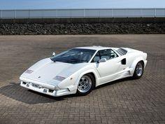 """Lamborghini Countach """"25th Anniversary"""" UK-spec '1988–90"""