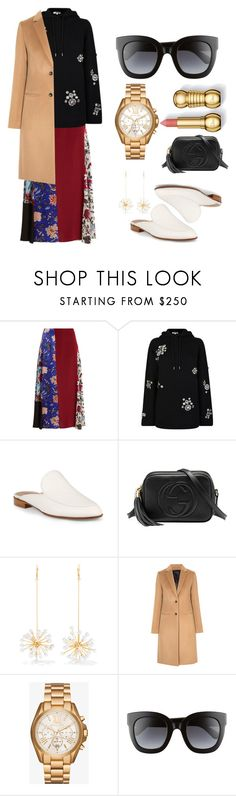 """""""Untitled #57"""" by destiny-orihuela ❤ liked on Polyvore featuring Diane Von Furstenberg, McQ by Alexander McQueen, Gianvito Rossi, Gucci, E L L E R Y, Joseph, Michael Kors and hoodie"""