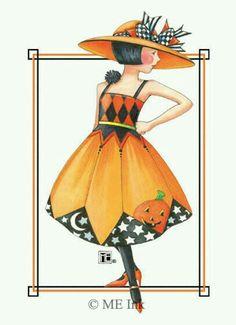 Model for Halloween