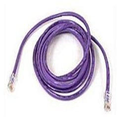 Belkin A3L791-04-PUR 4 Feet Category 5e Patch Cable - RJ-45 Male-Male Connector - Purple