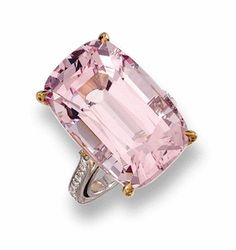 Morganite & Diamond Ring, Paolo Costagli