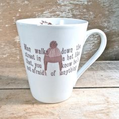 MISTAKE MUG Firefly Serenity Quote Man by SecondChanceCeramics