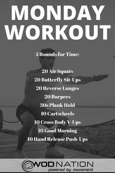 Do you feel lazy or unmotivated? Do you know you should workout but you don't want to? I know the feeling. Here is Best Workout Plans to Cut Fat and Get a sexy Body. Monday Workout, Wod Workout, Workout Challenge, Insanity Workout, Crossfit Workouts At Home, Easy Workouts, Weekly Workout Plans, Ms Gs, Workout Programs
