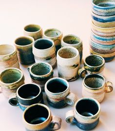 A collection of vintage ceramics