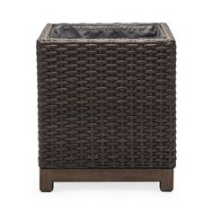 Support your new ficus, rubber plant, or aloe with the Belham Living Rhen Wicker Square Planter Box . This box planter is an ideal complement. Planters Around Pool, Square Planter Boxes, Rubber Plant, Screened In Patio, Ficus, Outdoor Furniture, Outdoor Decor, Flower Pots, Flowers