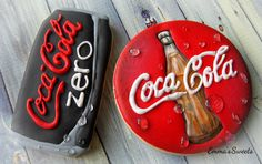 Vintage vs. Modern Day Coca Cola by Emma's Sweets | Cookie Connection