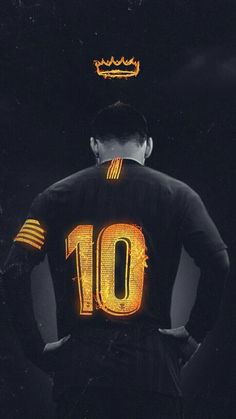Lionel Messi king of FC Barcelona # soccer # football Messi Y Cristiano, Messi Vs Ronaldo, Messi 10, Neymar Jr, Ronaldo Real, Football Messi, Club Football, Messi Soccer, Watch Football