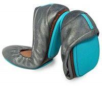 Tieks - Ballet Flat Reinvented | Metallic Pewter