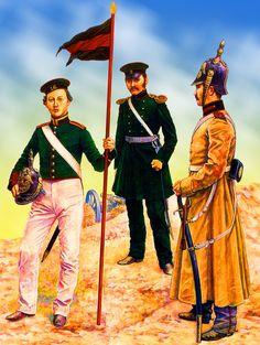Russian Artillery troops, Crimean War