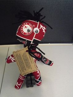 Bama Dammit Doll by RADBears on Etsy