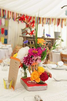 Colourful Seaside Festival Wedding: Rich & Rhian
