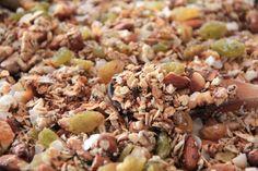 Home made granola / receta de granola hecha en casa
