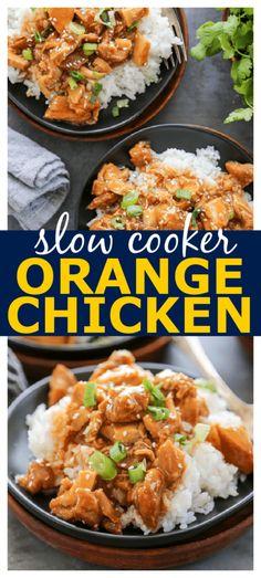 Easy Chicken Dinner Recipes, Best Chicken Recipes, Crockpot Dessert Recipes, Lunch Recipes, Best Crockpot Recipes, Slow Cooker Recipes, Asian Recipes, Turkey Recipes, Best Slow Cooker