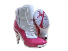 Jordans, I personally wouldnt wear these jays but im sure my sister would love them
