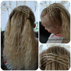 """Don't know what to call this. """"Braided cross over drag braid headband"""" doesn't sound that catchy"""