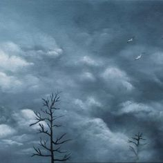 Voir l'image grand format Oil On Canvas, Clouds, Outdoor, Image, Landscapes, Outdoors, Outdoor Games, The Great Outdoors, Cloud