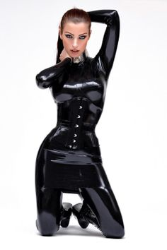 outfit Latex dominatrix