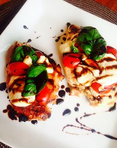 Easy caprese chicken is a flavorful and healthy 21 Day Fix approved dinner. This recipe is quick and easy to make,making itthe perfect go-to weeknight meal. Confession # 32- I received one of the nicest notes yesterday.  It was actually a comment on one of my blog posts. From a total stranger. I seriously...