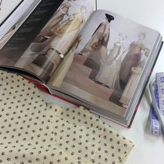 Planning a Regency gown takes a good deal of research, the right fabric, and many mugs of tea!