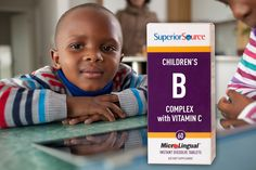 Our MicroLingual Children's Vitamin B will help them Live Healthier!