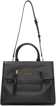 Marc Jacobs: Black Madison Tote | SSENSE