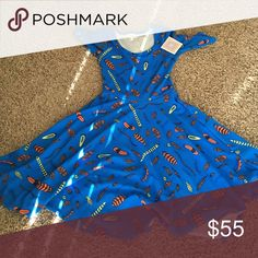 Royal blue Nicole This is gorgeous! In person way better than photo! LuLaRoe Dresses