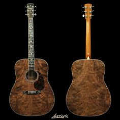 Larrivee Walnut Dreadnaught acoustic guitar
