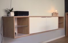 Buffet furniture plywood with 2 doors