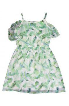 Vestido Mayoral Primavera Verano color verde