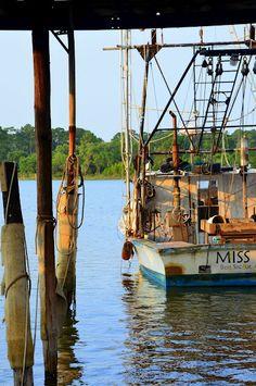 Early morning, Nelson Boat Yard, Bon Secour, AL