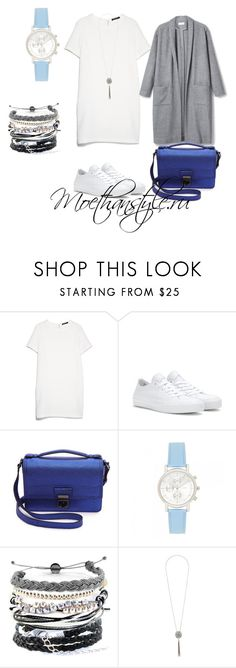 """""""Dress outfit"""" by smileggal on Polyvore featuring мода, MANGO, Converse, 3.1 Phillip Lim, Forever New, Domo Beads и Dorothy Perkins"""