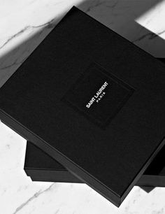 The new YSL, er Saint Laurent Paris logo. Luxury Packaging, Luxury Branding, Packaging Design, Fashion Packaging, Clothing Packaging, Packaging Ideas, Brand Packaging, Gift Packaging, Logo Branding
