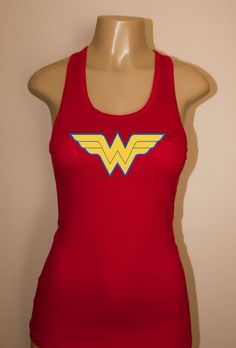 Wonder Woman  Racerback Tank Top Womens workout top fitness gym crossfit #Fashion #Style #Deal