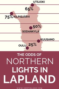 Plan your dream vacation to Lapland and see the Northern Lights! Check this helpful guide by a local and increase your chances of seeing the Auroras! Northern Lights Finland, Northern Lights Holidays, See The Northern Lights, Finland Travel, Lapland Finland, Lappland, Scandinavian Countries, Worldwide Travel, Ways To Travel