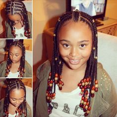 Omggg I looked exactly like this when I was little lol but these braid's thooo