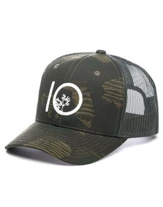 separation shoes 89809 d4633 A low-profile trucker style hat, with a bold embroidered tentree logo.  Perfectly