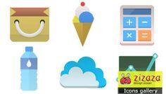 #Icon set - Web #flat icon - Zizaza item for #free #icons #webdesign #iconset
